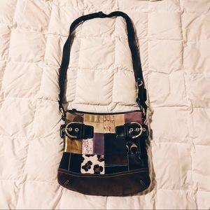 Coach Limited Edition Patchwork Messenger Bag
